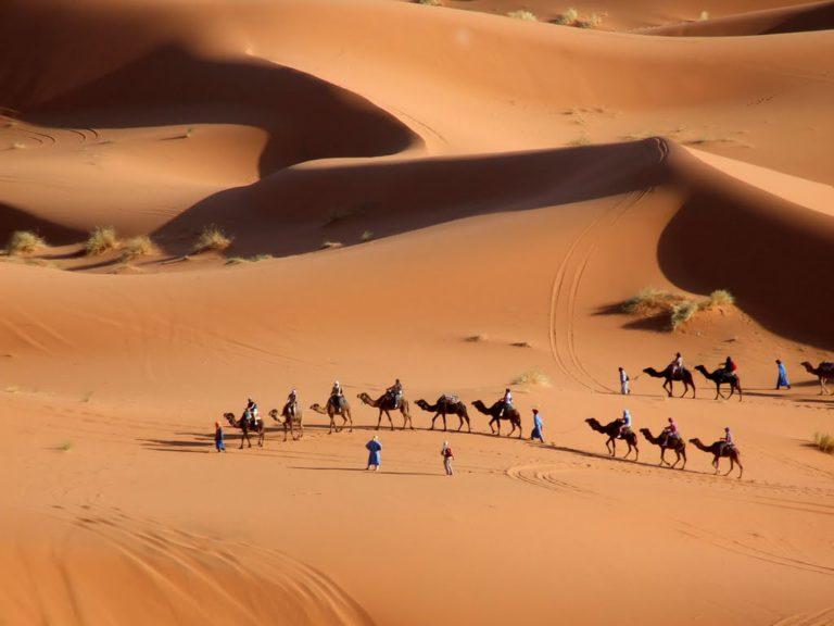 Rutas desde Ouarzazate|2 dias al Desierto de Merzouga