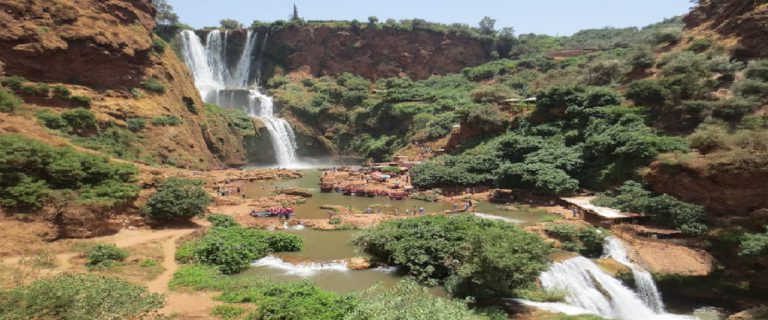 Excursion Marrakech a  Cascadas De Ouzoud